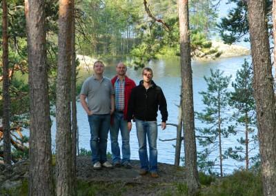3 Leipziger in Finnland