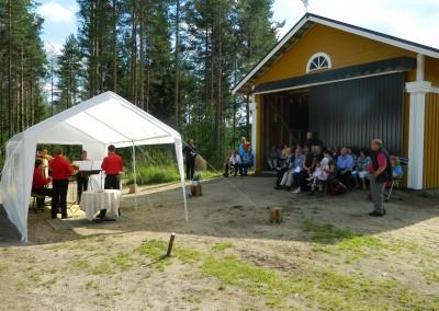 Waldkonzert in Finnland